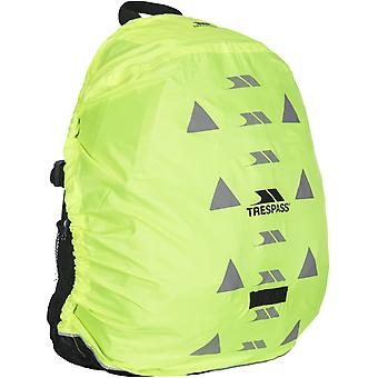 Trespass Sulcata Reflective Water Resistant Rucksack Backpack Cover - Yellow