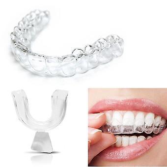 سيليكون ليلة الفم حارس للأسنان طحن الانقباض، النوم لدغة الأسنان