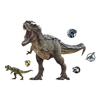 3d Dinosaurs Jurassic Wall Stickers Giant Decals Removable Wall Decor  Kids
