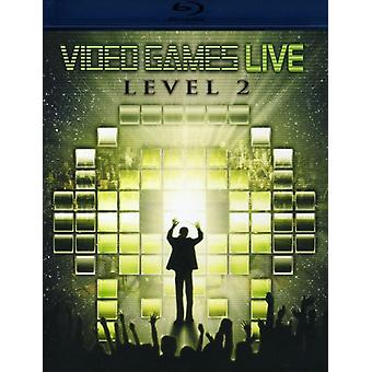 Video Games Live - Video Games Live: Level 2 [BLU-RAY] USA import