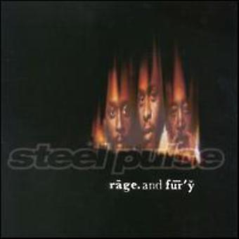 Steel Pulse - Rage & Fury [CD] USA import