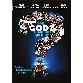 God: The Almighty Question [DVD] USA import