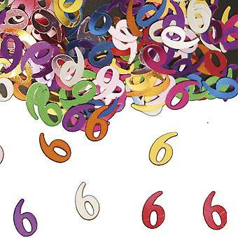 Festa de aniversário de confete do Deco mesa confetes número 6
