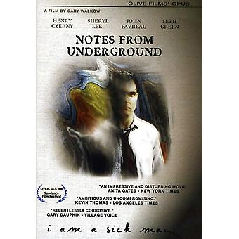Notes From Underground [DVD] import USA