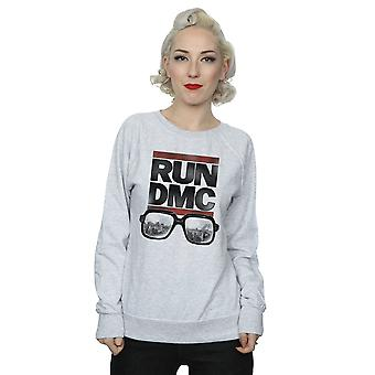 Run DMC Women's Logo Glasses Sweatshirt