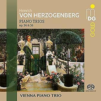 Herzogenberg / Vienna Piano Trio - Piano Trios 24 & 36 [SACD] USA import