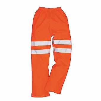 sUw - Hi-Vis sikkerhet Workwear Rail spor Side Sealtex Ultra bukser