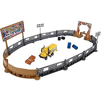 Disney Cars 3 Crazy 8 Crashers Smash and Crash Derby Playset