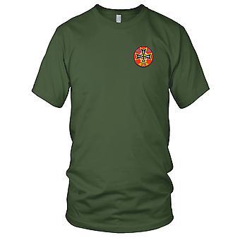 US Army - 20e régiment artillerie aérienne 2e bataillon brodé Patch - Mens T Shirt