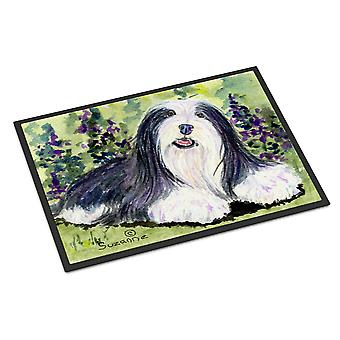 Carolines Treasures  SS8816MAT Bearded Collie Indoor Outdoor Mat 18x27 Doormat