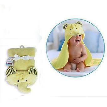 Ensimmäinen vaiheet 3D hupullinen Fleece vauvanpeitto
