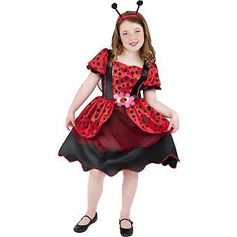 Kinder Kostüme Marienkäfer Kleid für Mädchen