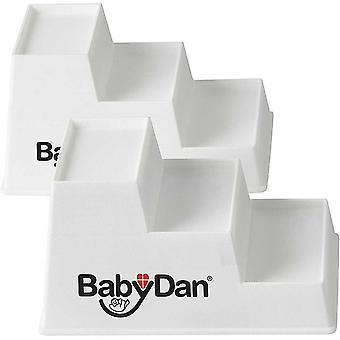 Baby Dan Baby Steps Cot Elevator x2