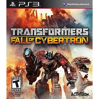 Transformers Fall of Cybertron (PS3) - Nouveau