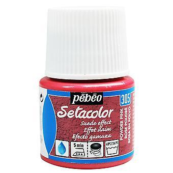 Tinta para tecido Pebeo Setacolor opaco camurça efeito 45ml