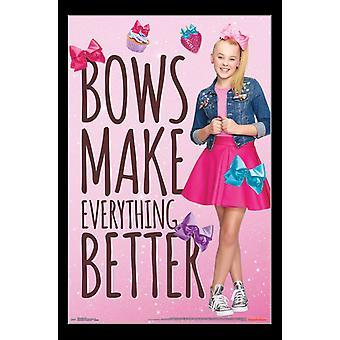 JoJo Siwa - Bows Poster Print