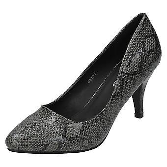 Hyvät paikalla käärme tulosta tuomioistuin kengät F9731