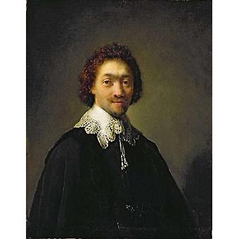 Portrait of Maurits Huygens, 1632 (oil on.. - Art Print