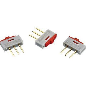 Würth Elektronik 450301014042 Slide switch 1 x On/On 1 pc(s)