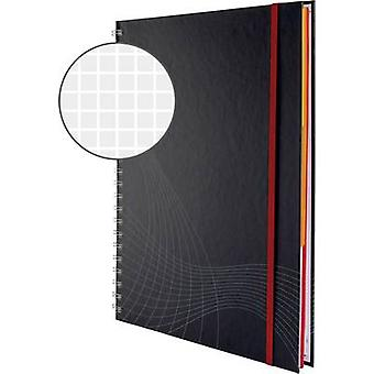 Avery-Zweckform notizio 7025 دفتر الملاحظات مربع الرمادي الداكن رقم. من الأوراق: 90 A4
