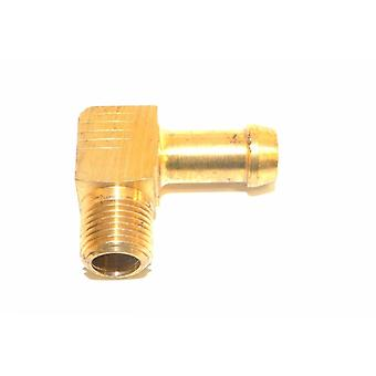 "Big A Service Line 3-83125 Brass 1/8"" Thread x 5/16"" Metal Barbed Tube Fitting"