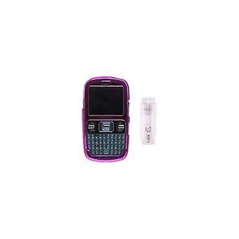 Pink - Snap On Belt Clip Case for Samsung R350 Pinger