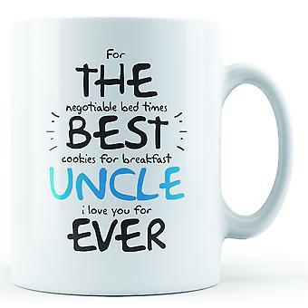 Onkel gedruckt für das beste aller Zeiten - Becher