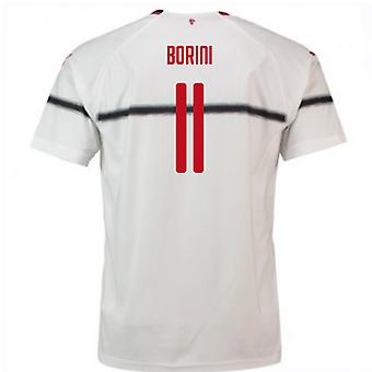 2018-2019 AC Milan Puma Away Football Shirt (Borini 11) - Kids
