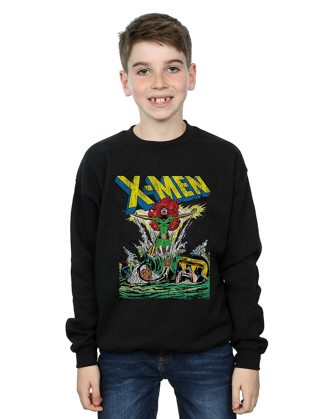 Marvel Boys X-Men Enter The Phoenix Sweatshirt
