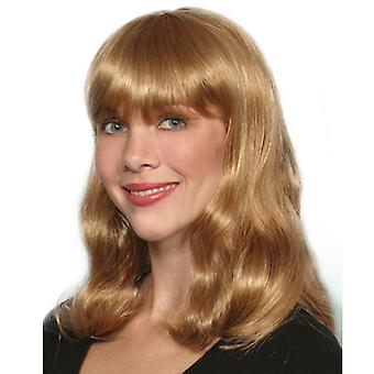 Fashion women medium wavy Susan wig