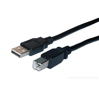 DELTACO 2 meter printer USB-kabel 2,0