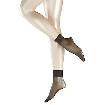 Falke Pure Matt Transparent 20 Denier Anklet Tights - antracitgrå