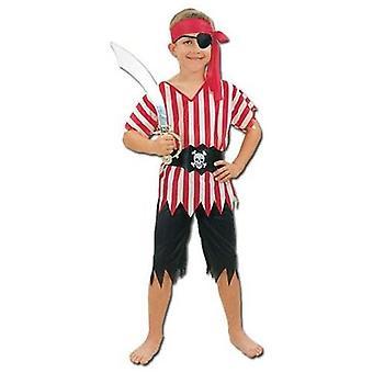 海賊の少年。 大規模です。