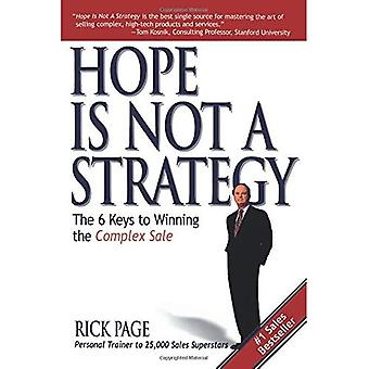 Hopp är inte en strategi: 6 nycklarna till vinnande komplex försäljning