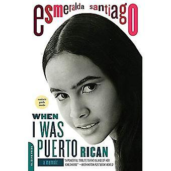 När jag var puertoricanska