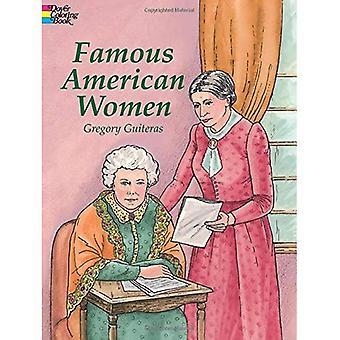 Berömda amerikanska kvinnor (Dover bildmässigt Arkiv) [illustrerad]