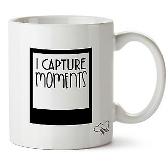 Hippowarehouse, я захватить моменты напечатаны Кубка керамическая кружка 10oz
