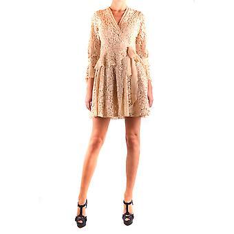 Aniye By Ezbc098008 Women's White Cotton Dress