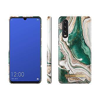 iDeal Da Suécia Huawei P30-Golden Jade Marble