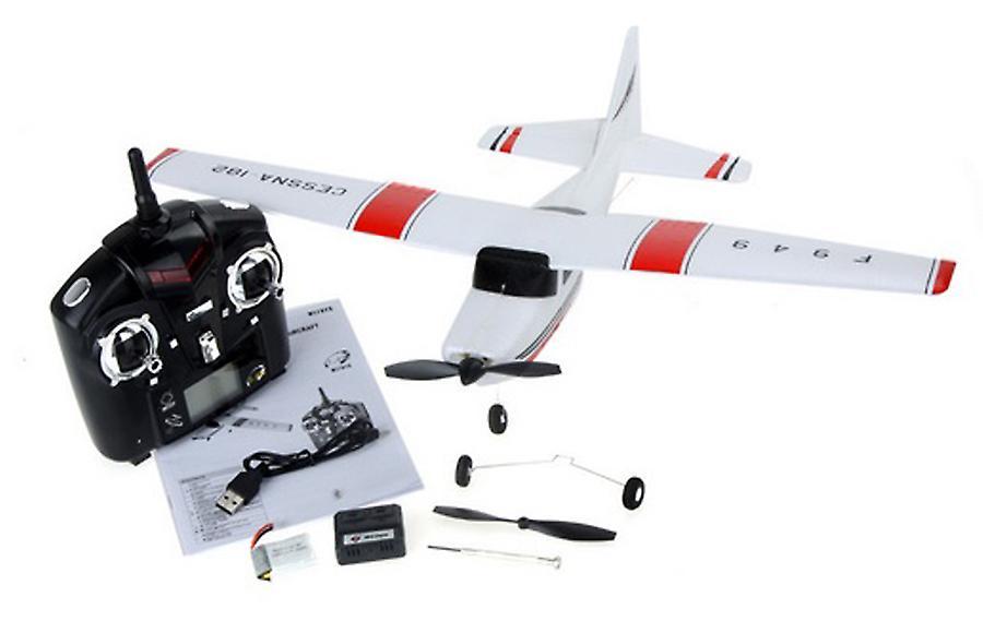 WL Toys F949 3Ch 2.4GHz RTF Cessna 182 Radio Controlled Plane