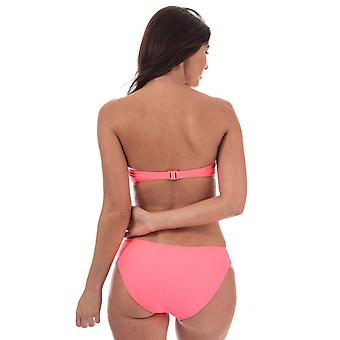 Womens Seafolly Pleated Hipster Bikini Bottoms In Red Hot