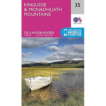 Kingussie & Monadhliath Mountains (February 2016 ed) by Ordnance Surv
