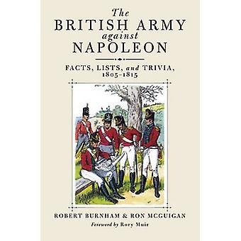 The British Army Against Napoleon - Facts - Lists and Trivia - 1805-18