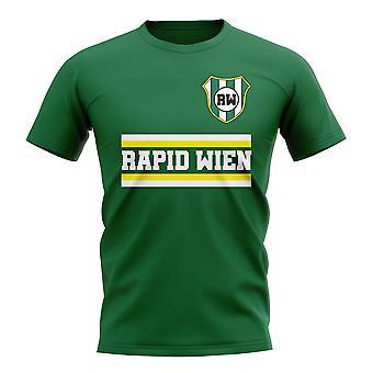 Rapid Wien Core fotbolls klubb T-shirt (grön)