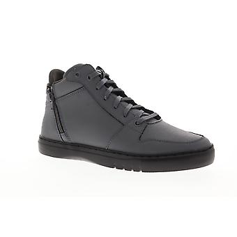 Creative Recreation Adonis Mid Mens Gray Leather Zipper High Top Sneakers Shoes
