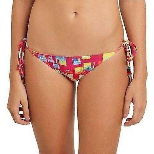 Opalocka Bquinis, Rio-Print Reversible Bikini Pant Tie-Sides