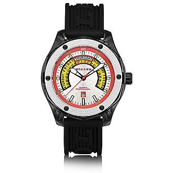 Holler Superfly Black & White Watch HLW2351-4