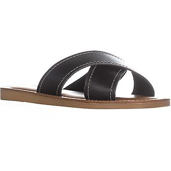 Easy Street Womens Evelina Fabric Open Toe Casual Slide Sandals