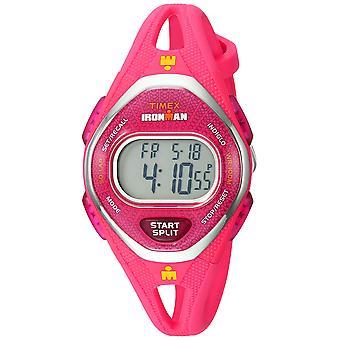Timex Womens Ironman Sleek 50 rosa Silikon Armbanduhr TW5M10700