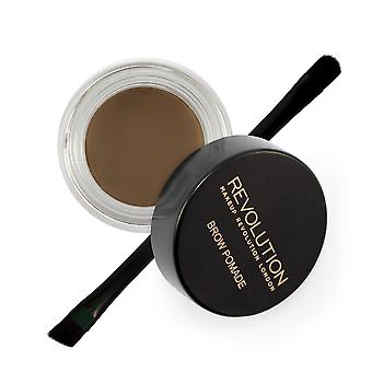 Makeup Revolution Brow Pomade-Medium Brown